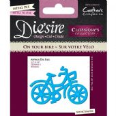 Crafters Companion Die'sire Dies - On Your Bike - DS-C-BIKE